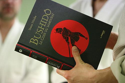 """Couverture du llivre """"Bushido"""", le code du samouraï."""