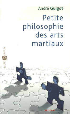 Couverdure livre André Guigot sur la philosophie des arts martiaux.