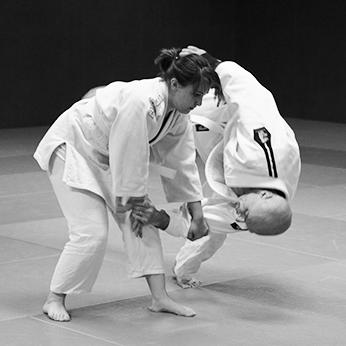 Aikido, technique de projection.