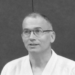 Photo de Pascal Voile, 4eme DAN, enseignant au club Nac Aikido.
